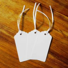 100 White Tags, Gift, Wedding, Wish Tree Tags, Place Name Settings